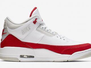 Air Jordan 3 Tinker ''White/University Red''