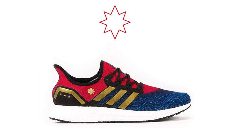 Jen Bartel x adidas AM4 ''Captain Marvel''