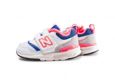 New Balance 997 blanc bleu rose bébé