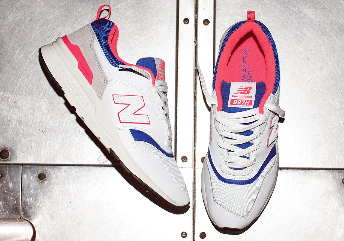 New Balance 997H ''White/Pink Laser/Blue''