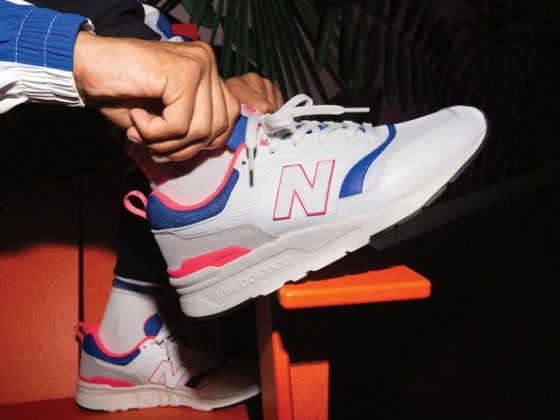 New Balance 997H ''White/Pink Laser/Blue''