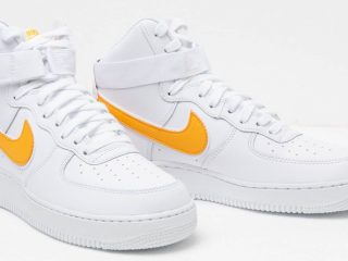 Nike Air Force 1 High '07 3 ''White/University Gold''