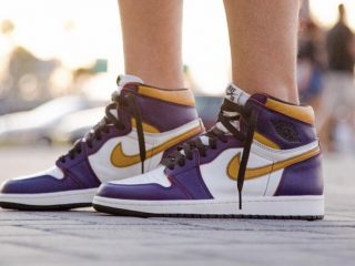 Nike SB x Air Jordan 1 ''Lakers''