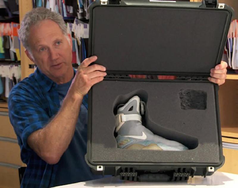 Tinker Hatfield et ses Nike Air Mag