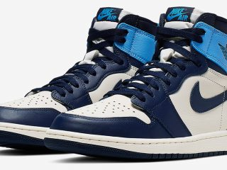 Air Jordan1 Retro High OG ''Obsidian UNC''