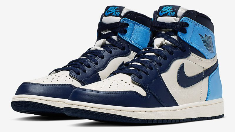 Air Jordan 1 Retro High OG ''Obsidian UNC'' - 555088-140
