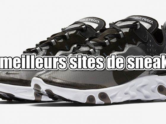 Les meilleurs sites de sneakers