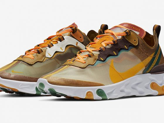 Nike React Element 87 ''Orange Peel''