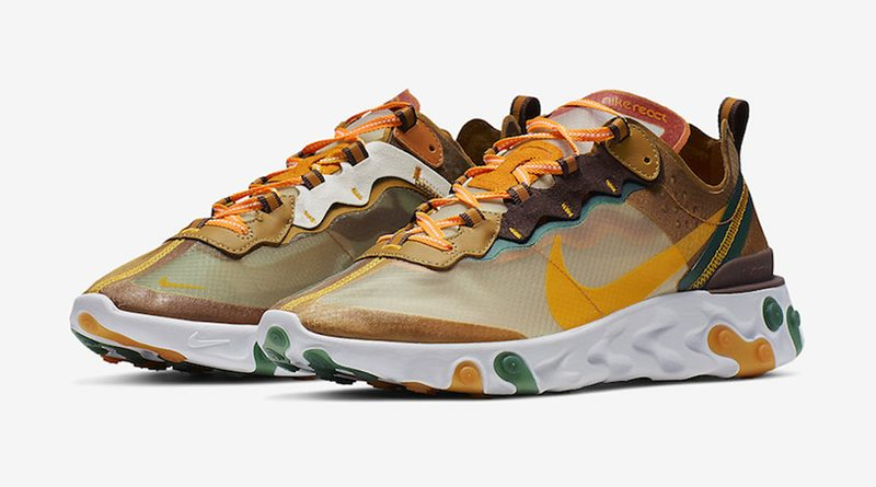 Nike React Element 87 ''Orange Peel''