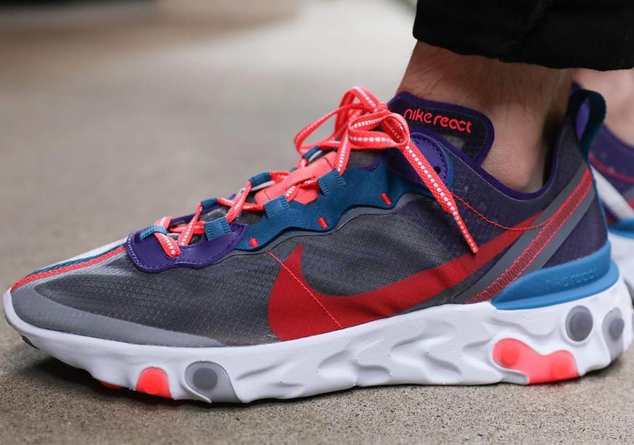 Nike React Element 87 ''Red Orbit''