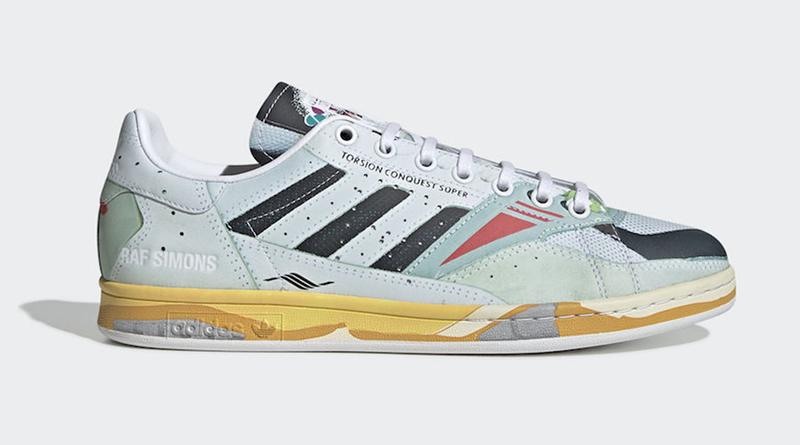 Raf Simons x adidas Torsion Stan Smith Sneaker Style