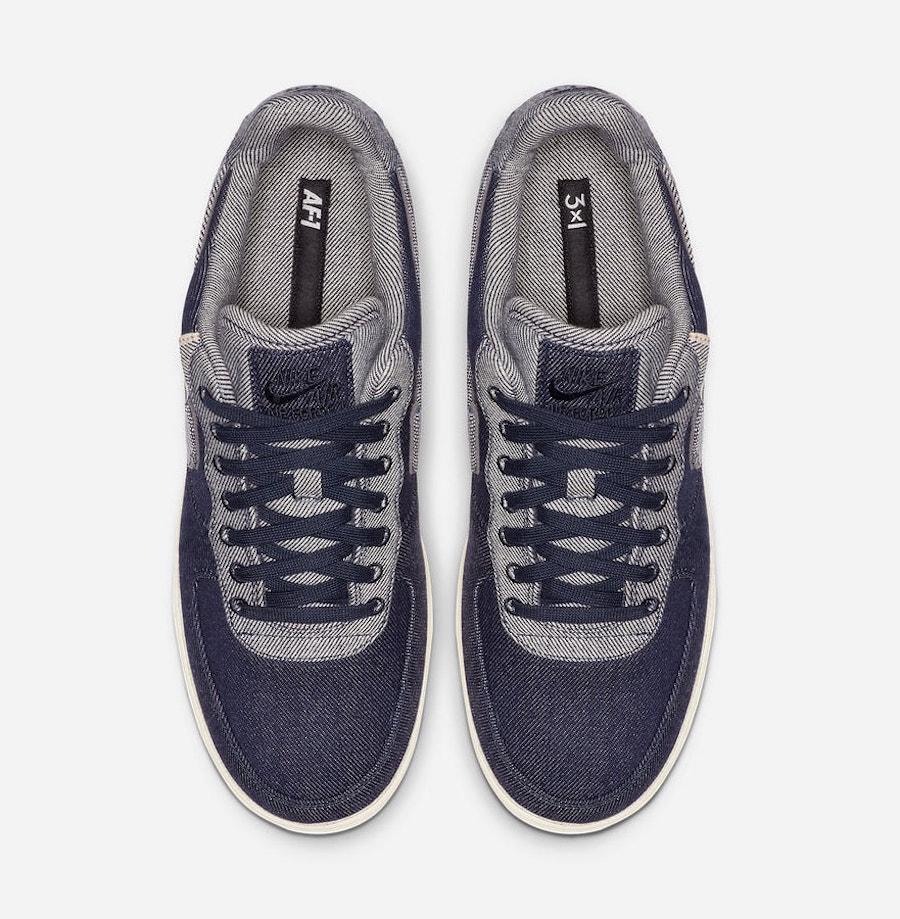 3x1 x Nike Air Force 1 Low ''Raw Indigo''