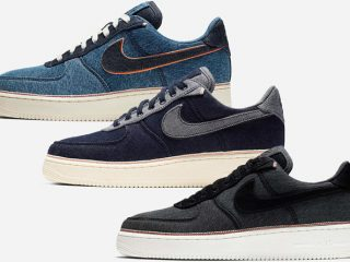 3×1 x Nike Air Force 1 ''Selvedge Denim'' Pack