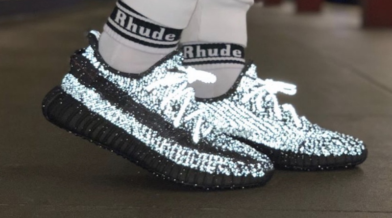 adidas Yeezy Boost 350 v2 ''Black Reflective'' Sneaker Style