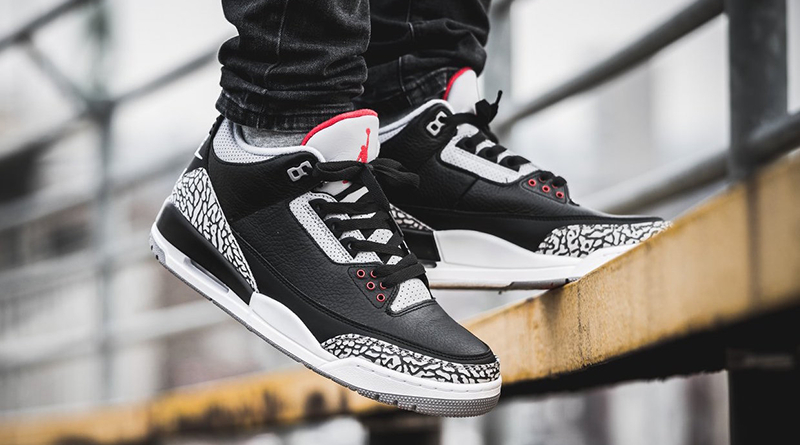 "La Air Jordan 3 ""Black Cement"" de 1988"