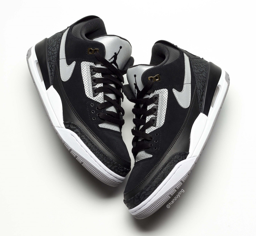 Air Jordan 3 Tinker ''Black Cement''