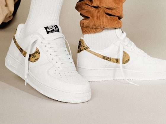 Nike Air Force 1 Low ''Ivory Snake''
