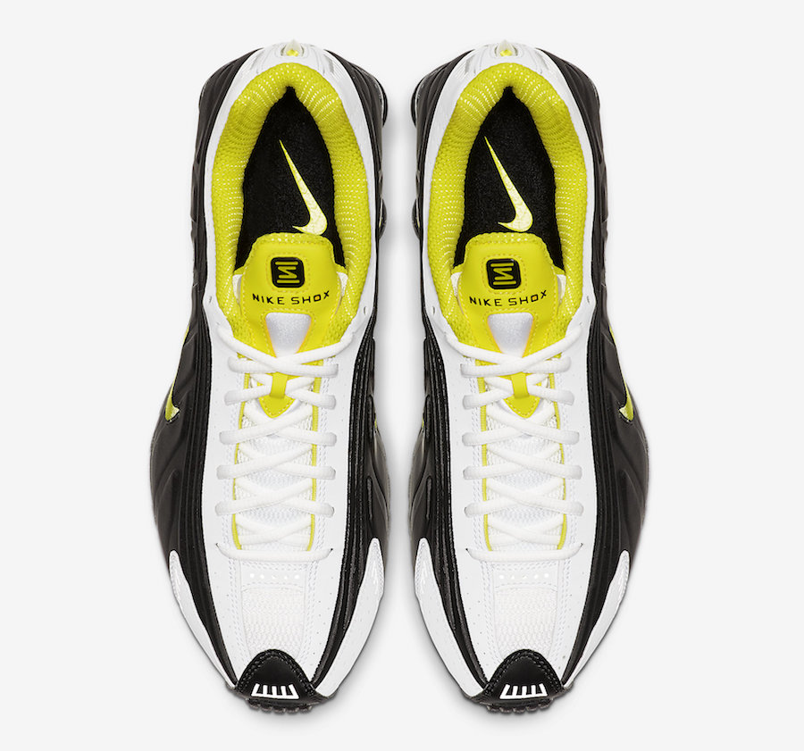 Nike Shox R4 ''Dynamic Yellow''