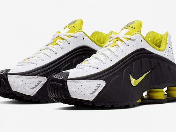 Nike Shox R4 ''Dynamic Yellow''