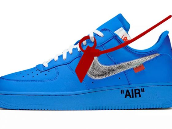 Off-White x Nike Air Force 1 Low ''University Blue''