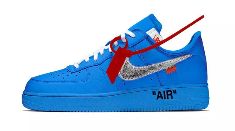 air force 1 low bleu