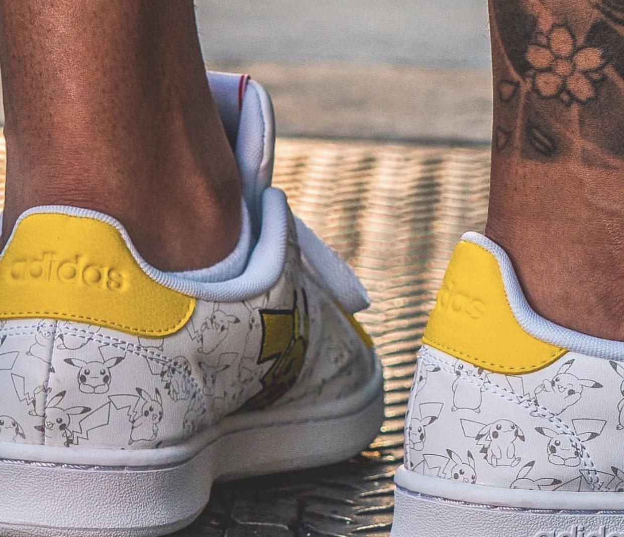Pokémon x Adidas : La première collection de sneakers