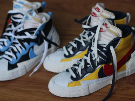 Sacai x Nike ''Blazer with the Dunk''