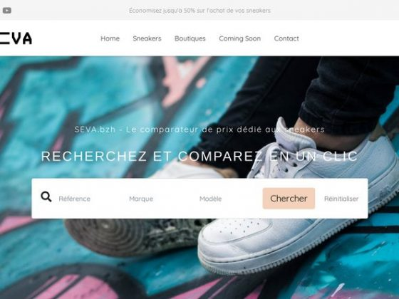 SEVA - Comparateur de prix de sneakers