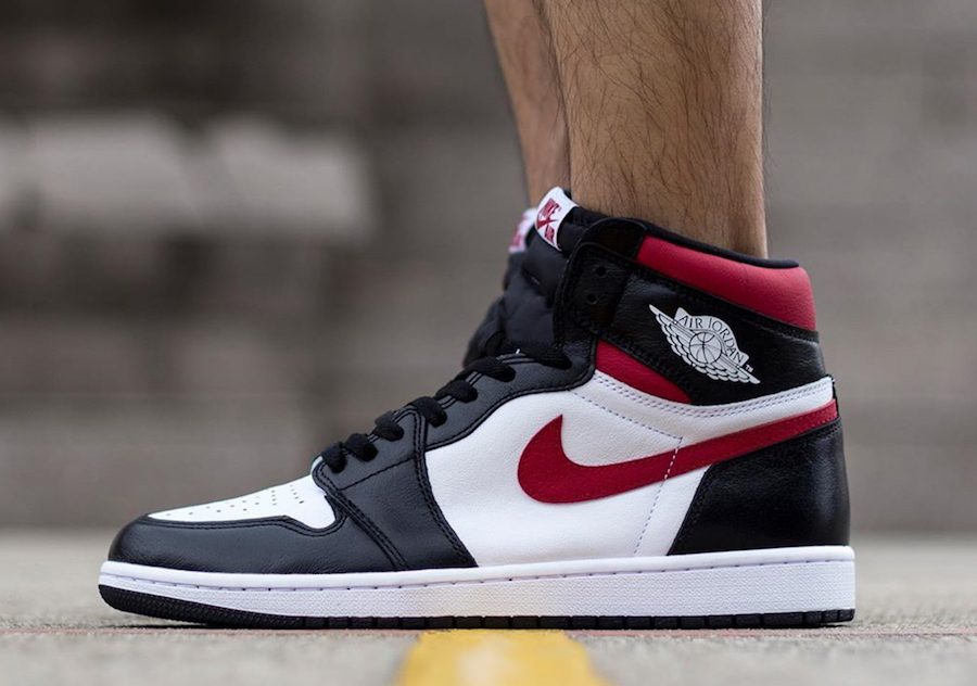 nike air jordan 1 retro high og gym red