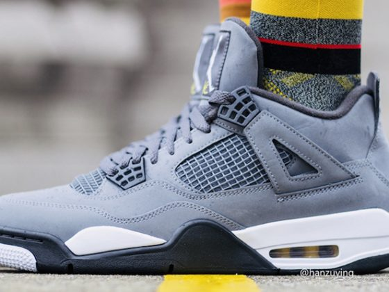 Air Jordan 4 ''Cool Grey''
