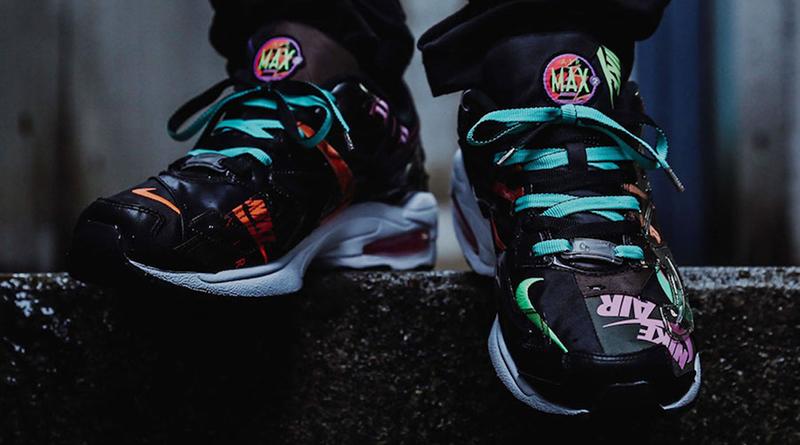 atmos x Nike Air Max2 Light ''Black Alternate'' Sneaker Style