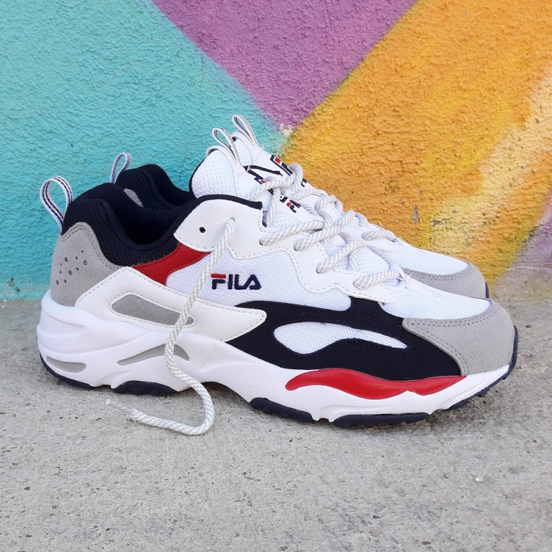 FILA Ray Tracer - White/Navy/Red