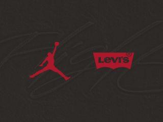 Levi's x Air Jordan - Logo