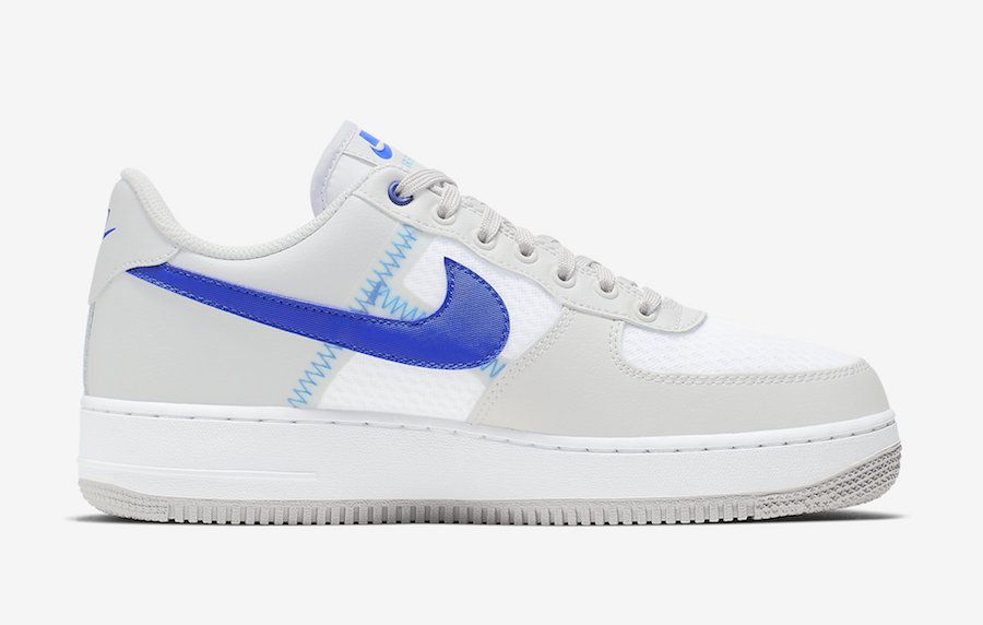 Nike Air Force 1 ''Transparent Mesh'' ''Racer Blue''