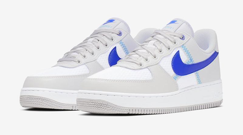 air force 1 semelle bleu