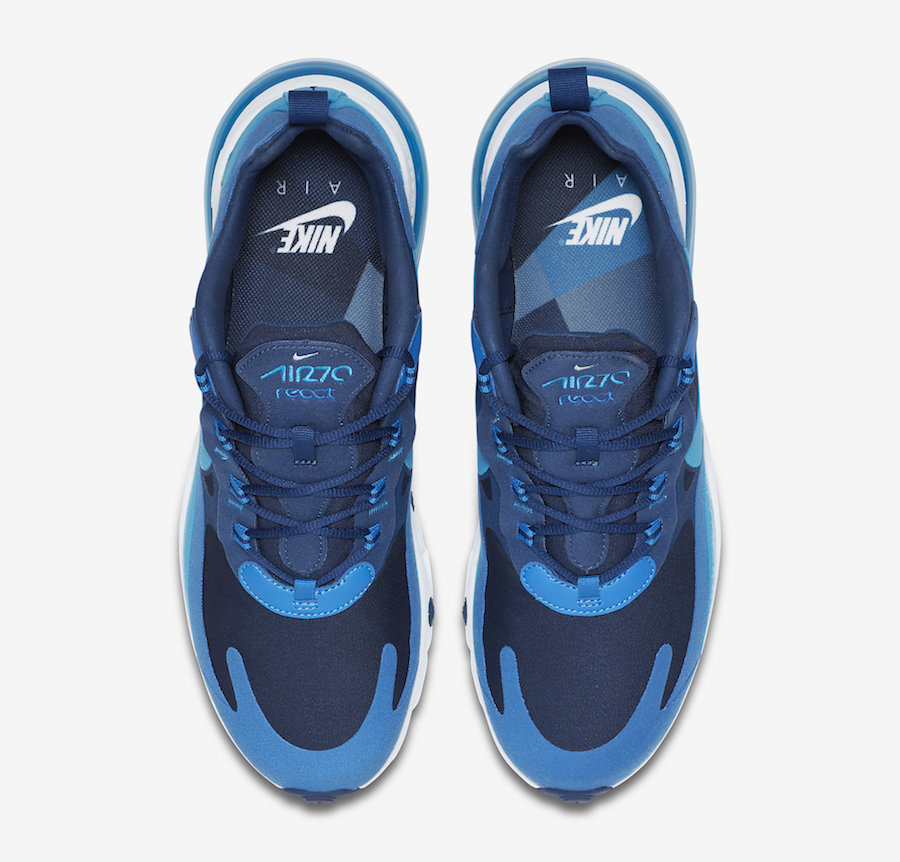 Nike Air Max 270 React ''Blue Void''