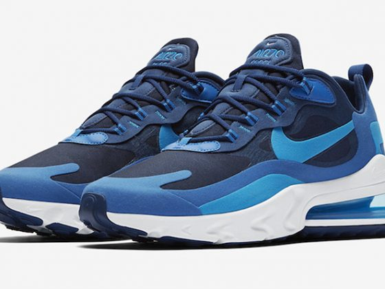 Nike Air Max 270 React ''Blue Void''