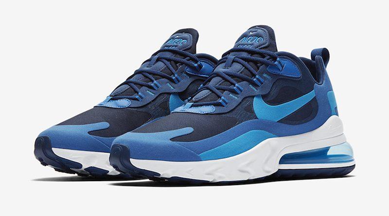 air max 270 react bleu turquoise