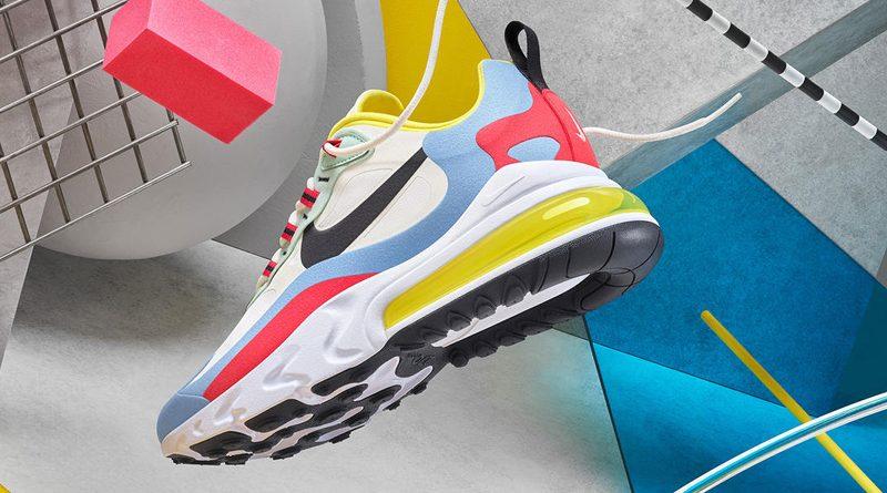 Nike Air Max 270 React ''Bauhaus''