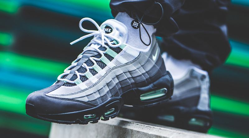 Nike Air Max 95 ''Fresh Mint'' Sneaker Style