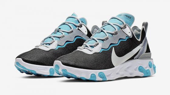 Nike React Element 55 ''Pure Platinum/Wolf Grey''