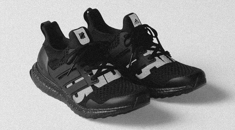 Undefeated x adidas Ultraboost ''Blackout'' Sneaker Style