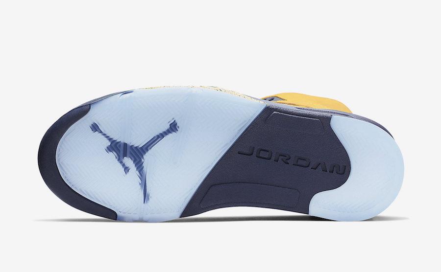 Air Jordan 5 SP ''Michigan''