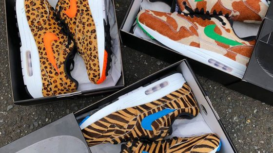 atmos x Nike Air Max 1 ''Animal 3.0'' Pack