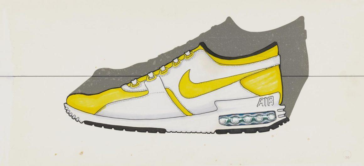 Croquis original de Nike Air Max Zero