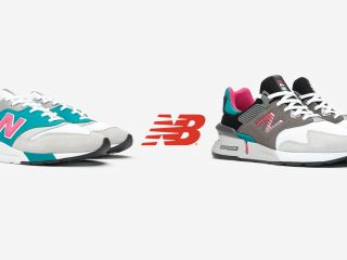 New Balance 997 - Grey/Green/Pink Pack