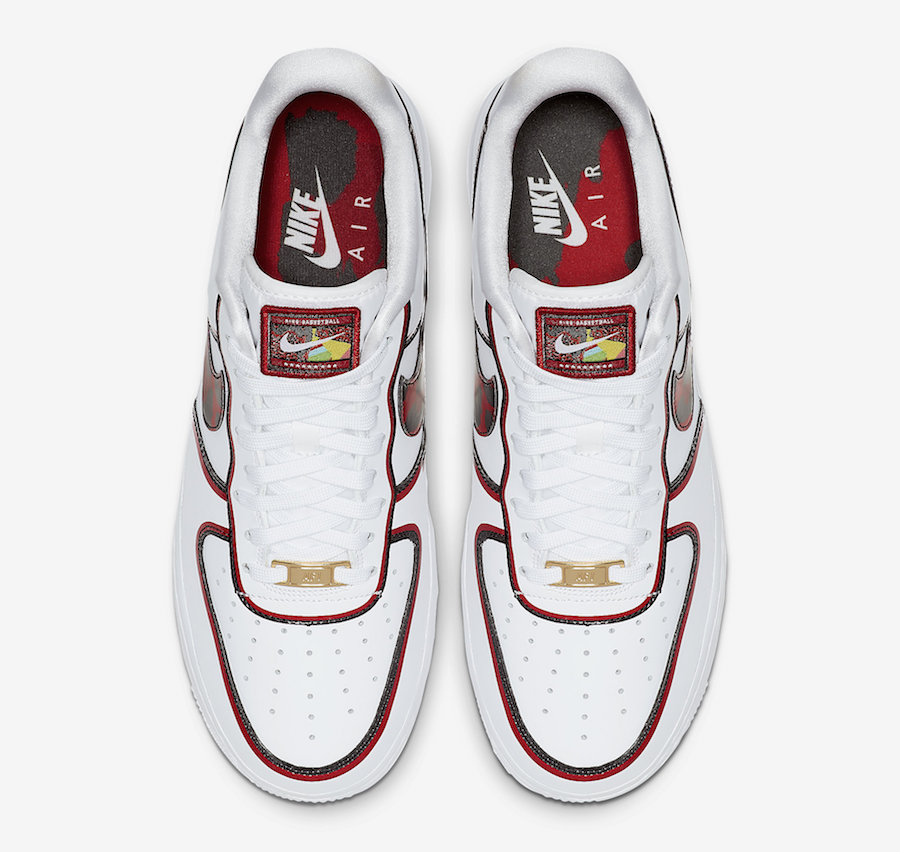 Nike Air Force 1 inspirée de Dennis Rodman