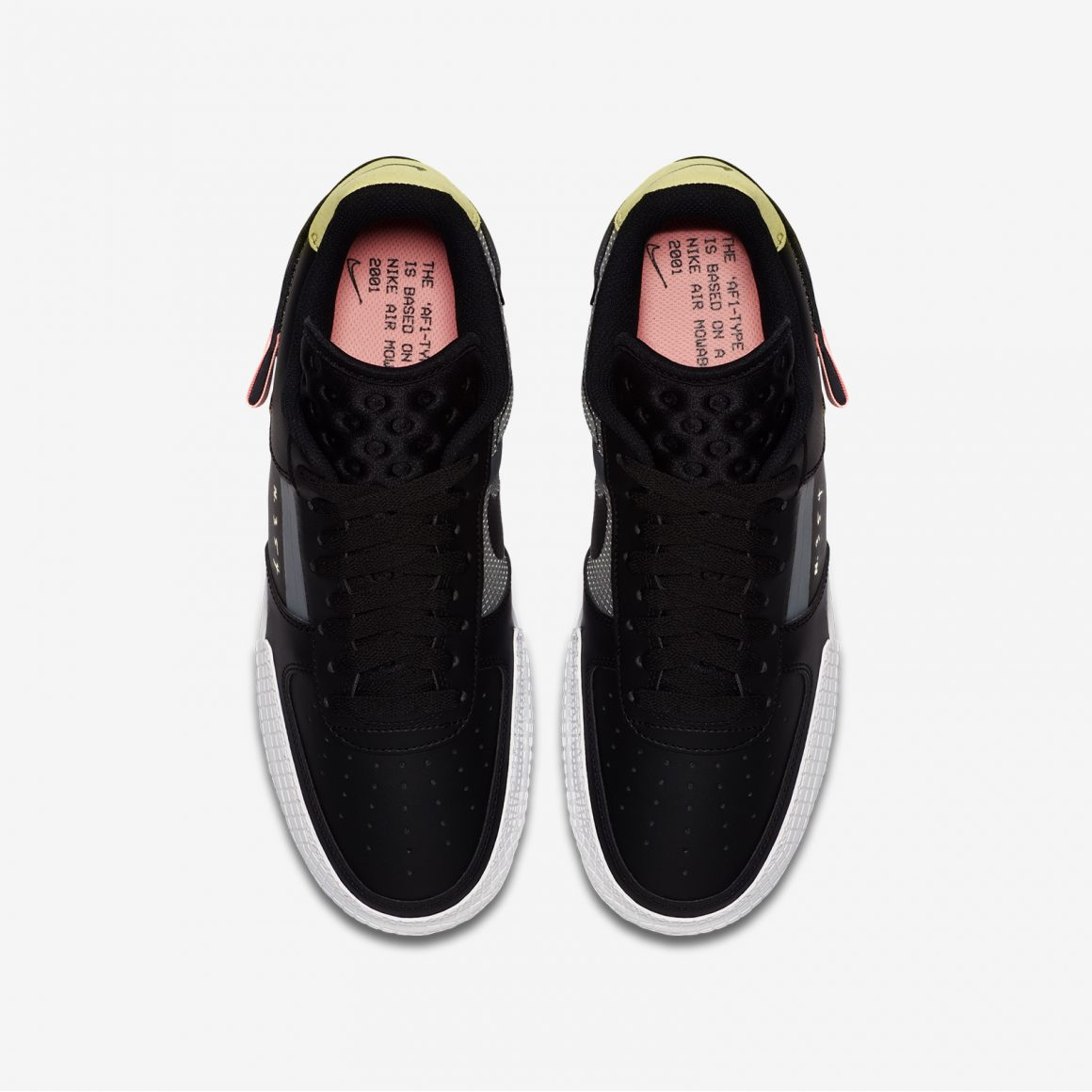 Nike Air Force 1 Low ''Type'' ''Black/Anthracite''