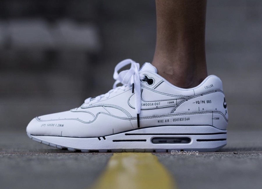 Nike Air Max 1 Tinker ''Schematic''