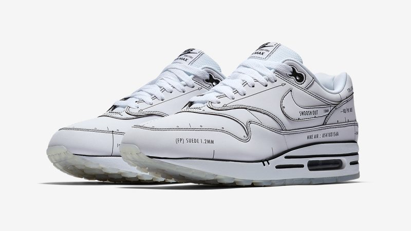 Nike Air Max 1 Tinker ''Schematic'' ''Sketch To Shelf''